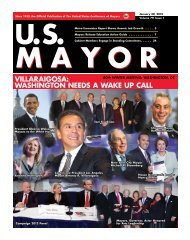 Villaraigosa: Washington needs a Wake up Call - U.S. Conference ...