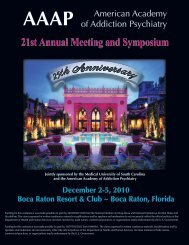 to view the Final 2010 Conference Program (PDF). - American ...