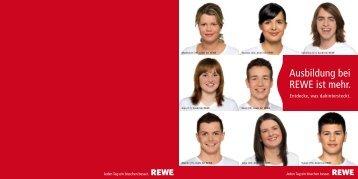 Ausbildung bei REWE ist mehr. - REWE DORTMUND