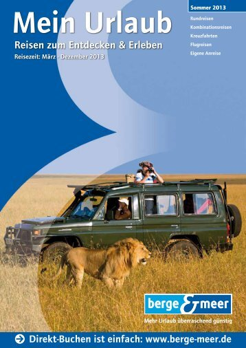 Katalog zum Download (pdf, 38 mb) - Berge & Meer