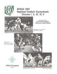 Footbali Tournaments - Revere Local Schools / Overview