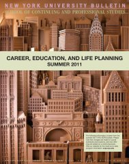 career, education, and life planning summer 2011 - School of ...