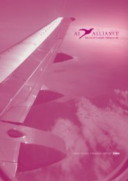 Half-yearly financial report 2008 - Advanced Inflight Alliance AG
