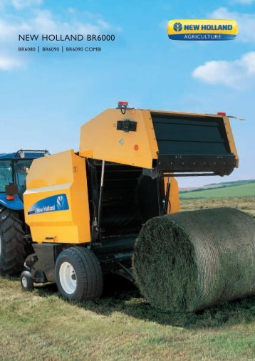 NEW HOLLAND BR6000