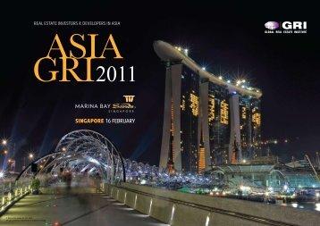 SINGAPORE 16 FEBRUARY - Global Real Estate Institute