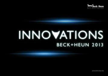 INNOVATIONS - Beck+Heun