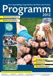 Programm Jugendpflege - Rhein-Lahn-Info