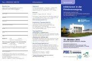 Flyer als pdf-Datei zum Download - PEG-Symposien