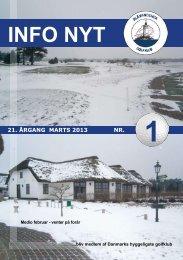 Info nyt 2013 nr 1 - Blåvandshuk Golfklub