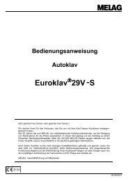 Melag Euroklav 29V-S