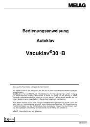 Melag Vacuklav 30-B