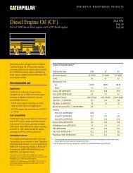 Diesel Engine Oil (CF) - Toromont CAT