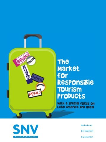 The Market for Responsible Tourism Products - Center for ...