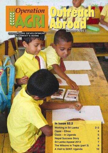 our current magazine. - Operation Agri