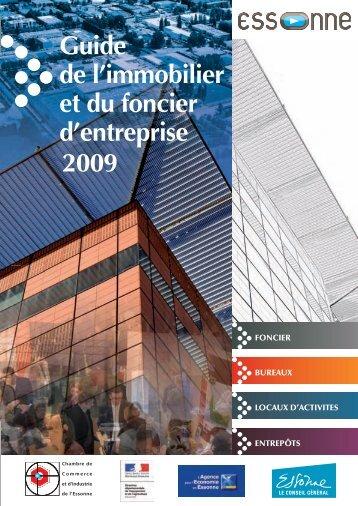 Guide de l'immobilier et du foncier d'entreprise 2009 - Agence pour l ...
