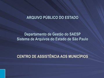 Palestra - Assembleia Legislativa do Estado de São Paulo
