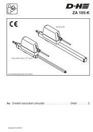 ZA 105-K - Rack and pinion drive - D+H Mechatronic