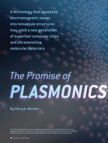 The Promise of Plasmonics - Atwater Research Group @ Caltech