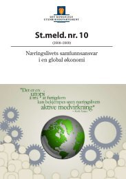 St.meld. nr. 10 (2008-2009) - Regjeringen.no