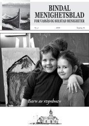 Menighetsbladet nr 2-2008 - Bindal kommune