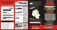 Unser Flyer 2009 mit allen Veranstaltungen als PDF