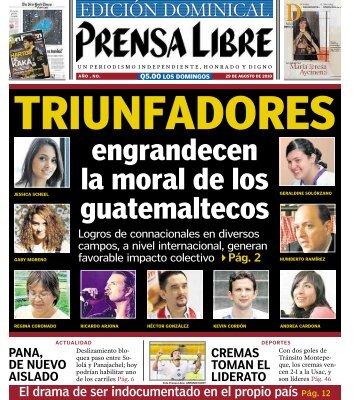 engrandecen la moral de los guatemaltecos - Prensa Libre