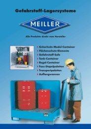 Fass-Stapelpaletten - Meiller GmbH & Co. KG