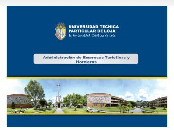 Administración de Empresas Turisticas y Hoteleras - Universidad ...