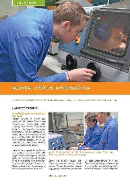 NACHGEFRAGT Welche beruflichen ... - Planet Beruf.de