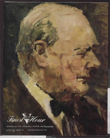 journal of the churchill center and societies - Winston Churchill