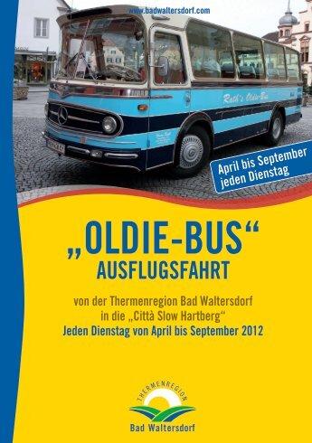 """""""Oldie-Bus"""" - Heiltherme Bad Waltersdorf"""
