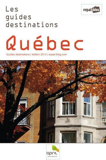 Guides destinations d'expat-blog.com