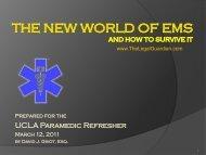 UCLA Paramedic Refresher
