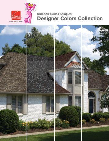Duration Designer Colors Brochure - BlueLinx