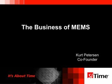 The Business of MEMS