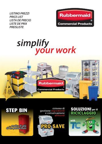 Rubbermaid Commercial Products Price List Euro - Grupposds.it