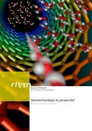 RIVM rapport 601785002 Nanotechnologie in perspectief