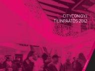 CITYCON OYJ TILINPÄÄTÖS 2012