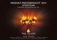 produkt-preisübersicht 2013 effektfeuer - The Flame