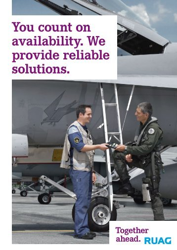 Brochure Military Aviation - RUAG