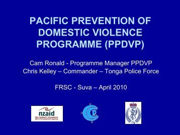 FRSC 2010 - Pacific Prevention of Domestic Violence Programme