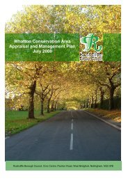 Whatton Conservation Area Appraisal and Management Plan July ...