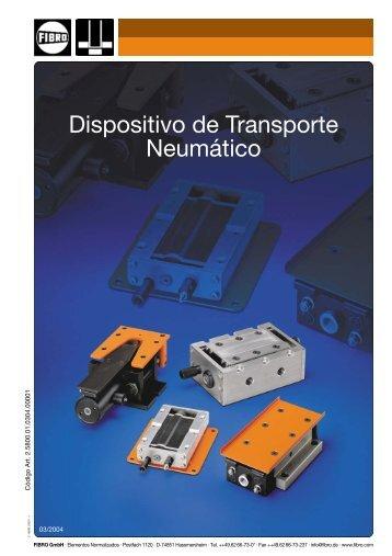 Dispositivo de Transporte Neumático - Fibro GmbH