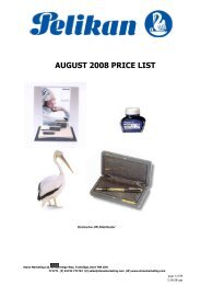 august 2008 price list - Stone Marketing