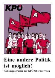 Aktionsprogramm - KPÖ Oberösterreich