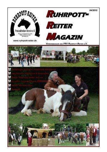 Ausgabe 04/2010 - RUHRPOTT-REITER eV