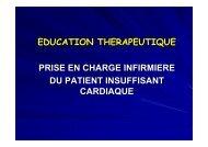 prise en charge du patient insuffisant cardiaque