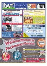 Dezember 2011 - RWT - Magazin für die Südwestpfalz