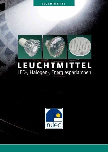 LEUCHTMITTEL - Rutec