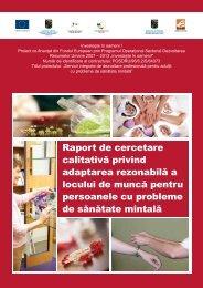 Raport de cercetare calitativa privind adaptarea ... - Fundaţia Estuar